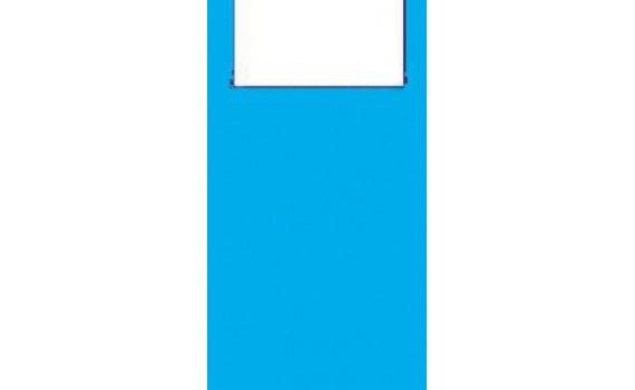 """Пакет ПЭ типа """"майка"""" 25+12x45 (9) (Синяя)"""