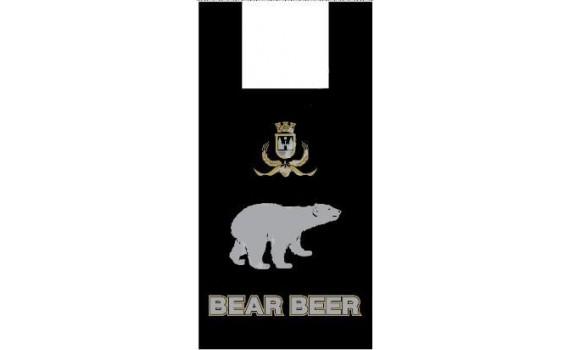 """Пакет ПЭ типа """"майка"""" 30+14x58 (13) """"Медведь"""""""