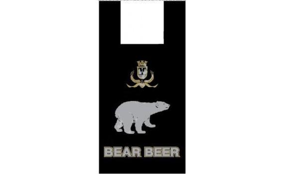 """Пакет ПЭ типа """"майка"""" 30+16х60 (15) (""""Медведь"""")"""