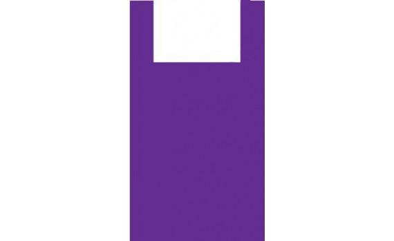 "Пакет ПЭ типа ""майка"" 38+23x70 (13) (Фиолетовая)"