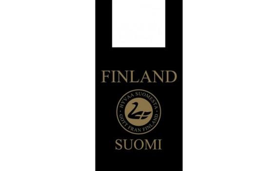 "Пакет ПЭ типа ""майка"" 28+16х55 (35) ""Suominen"" (черный)"