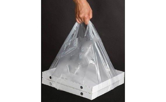 """Пакет ПЭ типа """"майка"""" 42+30х70 (14) для переноски коробок, прозрачный (х1000)"""