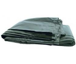 Мешки мусорные 120 л 50+20х110 (50) в пачках