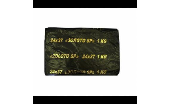 Пакет фасовочный, ПНД 24х37 (9) В пластах SuperPak (Золото 1КГ) (арт 90064)