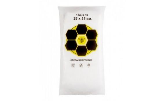 Пакет фасовочный, ПНД 18+8х35 (10) В пластах SuperPak (Пчела) (арт 10050)