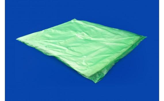 Пакет фасовочный, ПНД 32х40 (8) в пластах WWW зеленая (арт 80050)