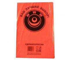 Пакет фасовочный, ПНД 14+8x38 (7) В пластах WWW красная