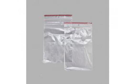 Пакет Zip Lock 20x30 35 мкм (с красной полосой) (00269)