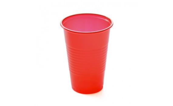 Стакан (2,65г) 200 мл ПП ИНТЕКО (х4000) (красный)