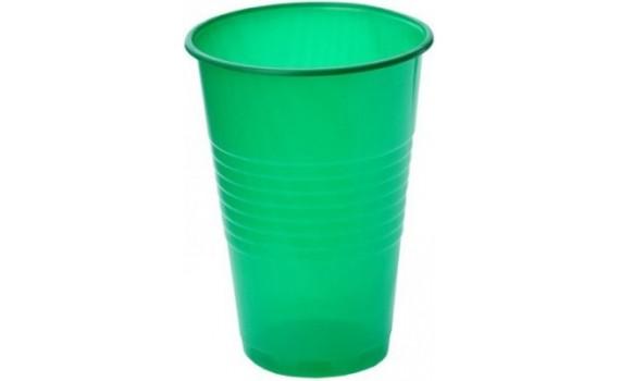Стакан (2,65г) 200 мл ПП ИНТЕКО (х4000) (зеленый)